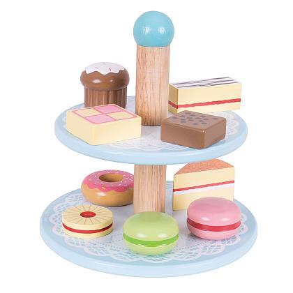 Kindermusthaves - Etagere met taartjes