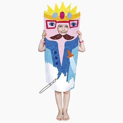 Kindermusthaves - Papieren verkleed outfit!