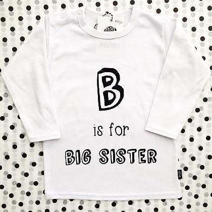 Kindermusthaves - B is for Big Sister!