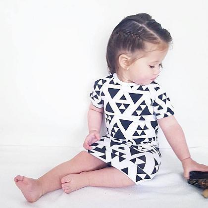 Kindermusthaves - Jurkje met triangles!