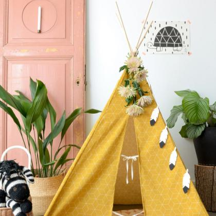 Kindermusthaves - Create your own tipi!