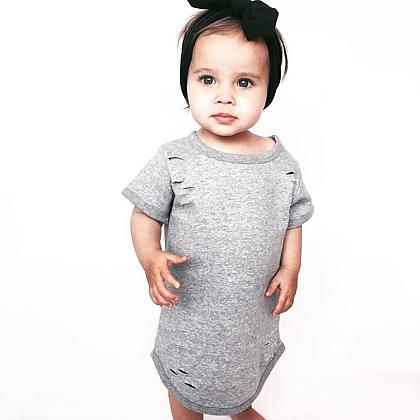 Kindermusthaves - Ripped t-shirt dress