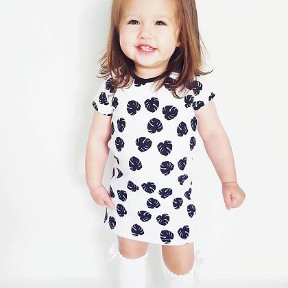 Kindermusthaves - Leaves dress!