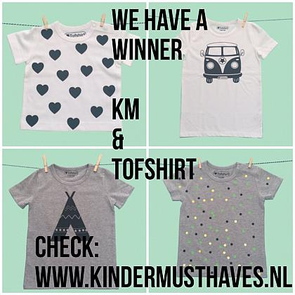 Kindermusthaves - We have a winner...!