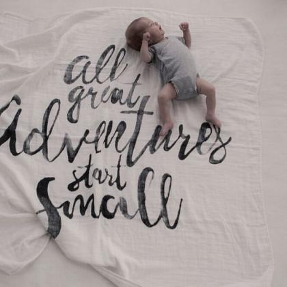 Kindermusthaves - Swaddle: All great adventures start small!
