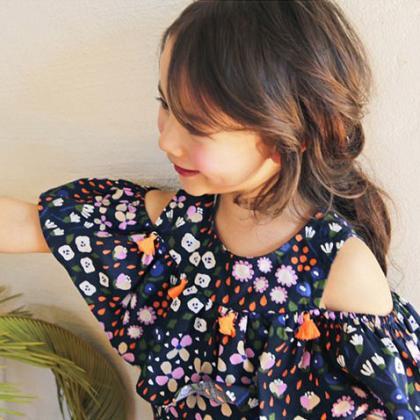 Kindermusthaves - Jurkje met bloemenprint!