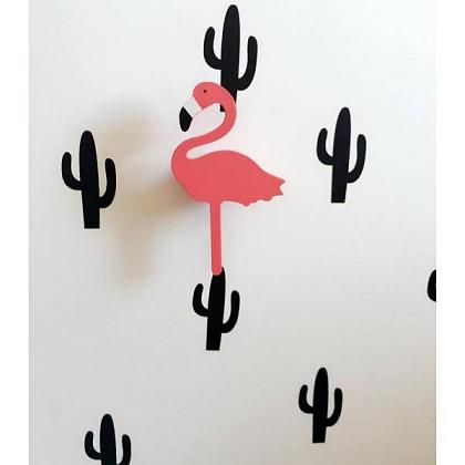 Kindermusthaves - Wandhaak flamingo!