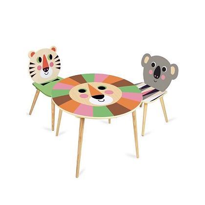 Kindermusthaves - Kindertafel en stoeltjes!