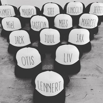 Kindermusthaves - Trucker cap met naam!
