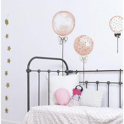 Kindermusthaves - Muursticker: ballonnen!