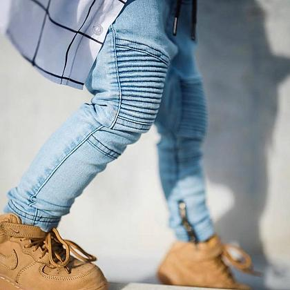 Kindermusthaves - De denim jogger!