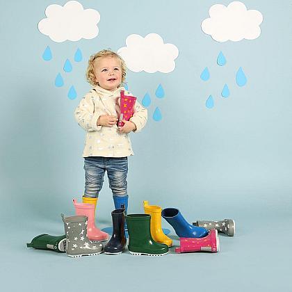 Kindermusthaves - Hippe regenlaarsjes!