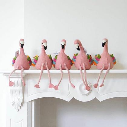 Kindermusthaves - Boekensteun Flamingo!