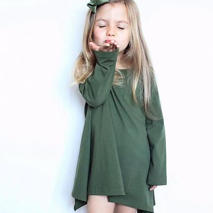 Kindermusthaves - Khaki dress!