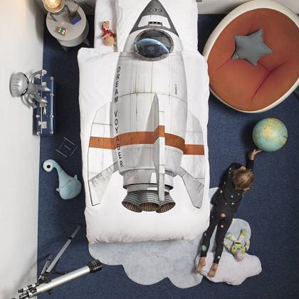 Kindermusthaves - Dekbedovertrek Rocket!
