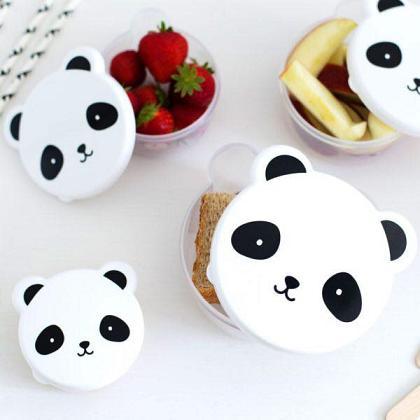 Kindermusthaves - Panda snackboxjes!