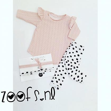 Kindermusthaves - Zalmroze met big dots!