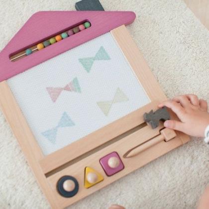 Kindermusthaves - Oekaki huis magneetbord!