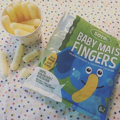 Kindermusthaves - SNACK TIP: Baby MaisFingers!