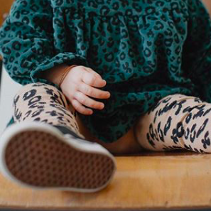 Kindermusthaves - Knee Socks Leopard!