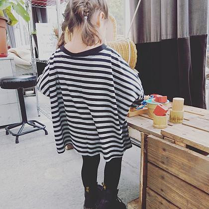 Kindermusthaves - Oversized & stripes!