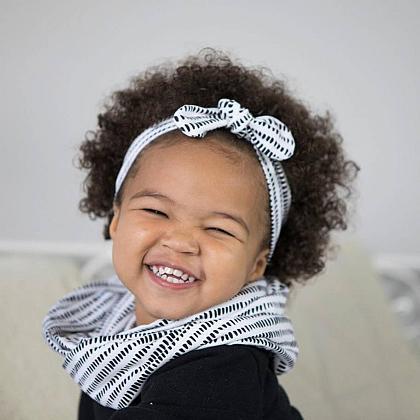 Kindermusthaves - Wit met zwarte streepjes!