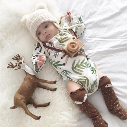 Kindermusthaves - Christmas romper!