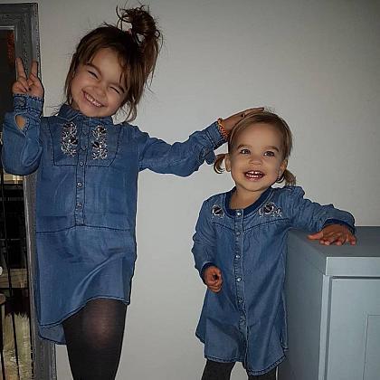 Kindermusthaves - Jeanslook jurkjes!