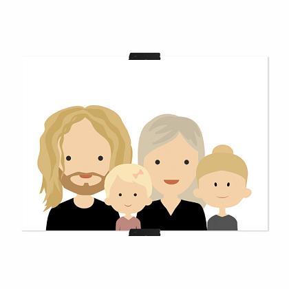 Kindermusthaves - Familie poster!