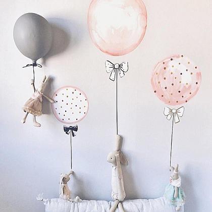 Kindermusthaves - Ballonnen muursticker!