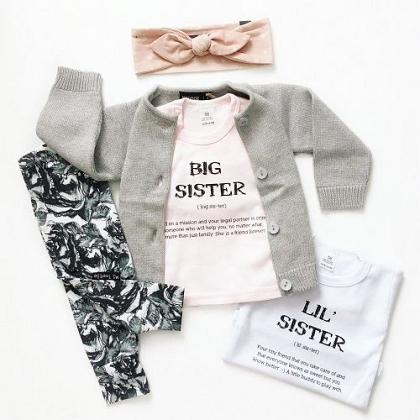 Kindermusthaves - BIG SISTER vs LIL SISTER