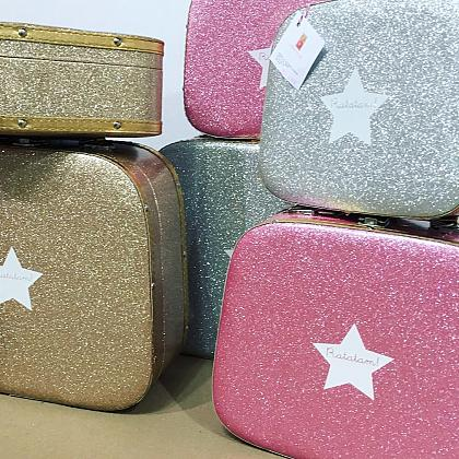 Kindermusthaves - Glitter koffers!