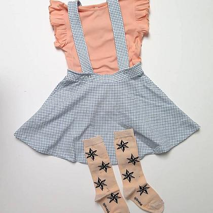 Kindermusthaves - Suspender skirt!