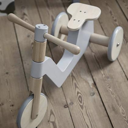 Kindermusthaves - Houten scooter!