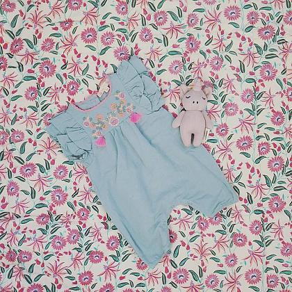 Kindermusthaves - Prachtig plaid - speelkleed!