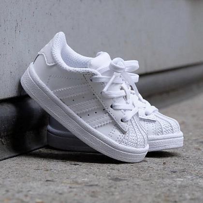 Kindermusthaves - Witte Adidas sneakers!