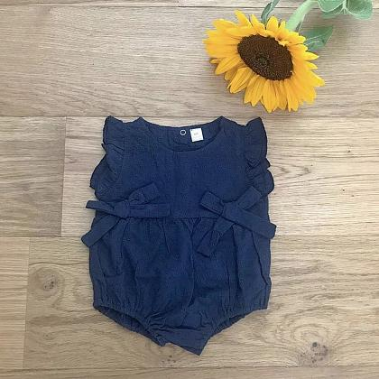 Kindermusthaves - Blauwe bodysuit!