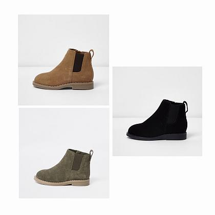 Kindermusthaves - Suède boots!