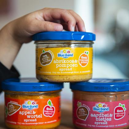 Kindermusthaves - FOOD TIP: Fruit en Groente Spreads van Blue Band!
