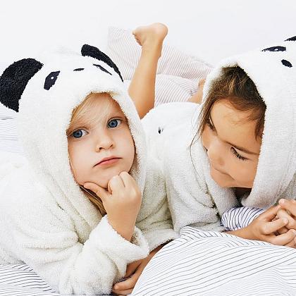 Kindermusthaves - Badjas panda!