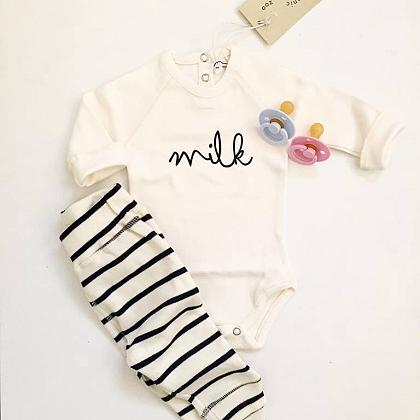 Kindermusthaves - M I L K + stripes!