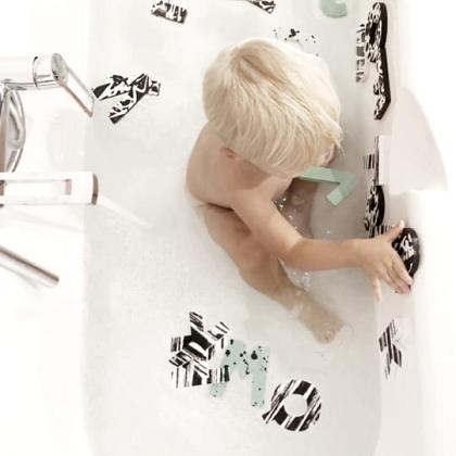 Kindermusthaves - Badderen met letters!