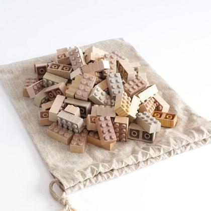 Kindermusthaves - Houten lego blokken!