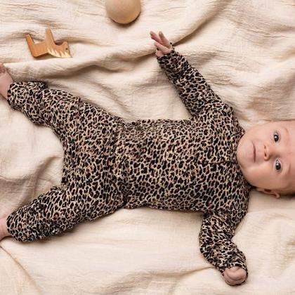 Kindermusthaves - Playsuit leopard!