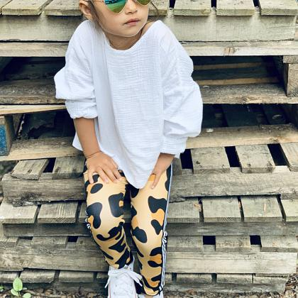 Kindermusthaves - Leopard legging!