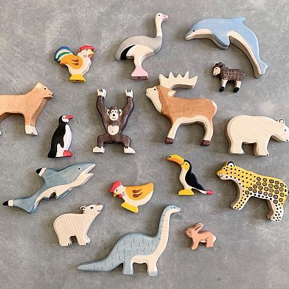 Kindermusthaves - Houten speeldiertjes!