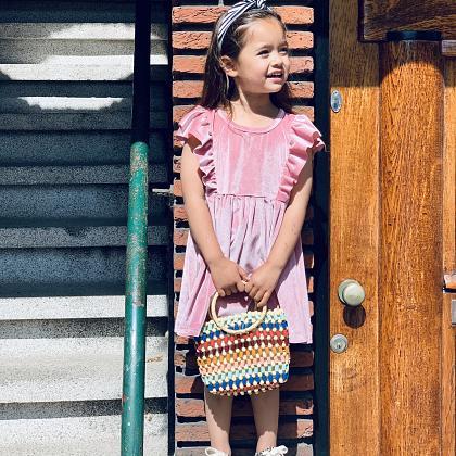 Kindermusthaves - Velvet jurk!