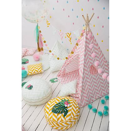 Kindermusthaves - Roze tipi tent!