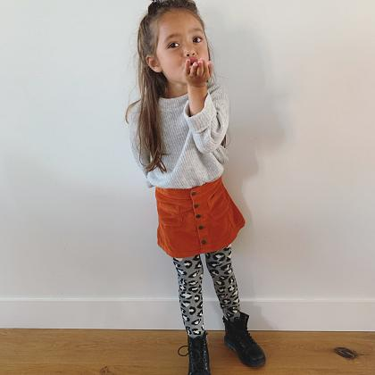 Kindermusthaves - Rib + leopard = aw19