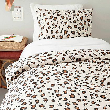 Kindermusthaves - Leopard dekbedovertrek!
